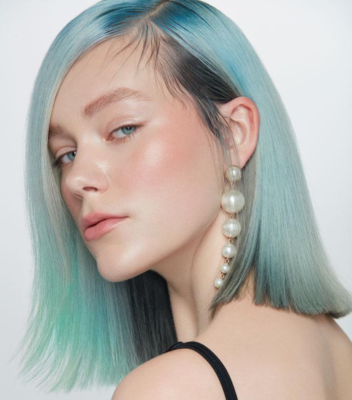 classic blue hair colour