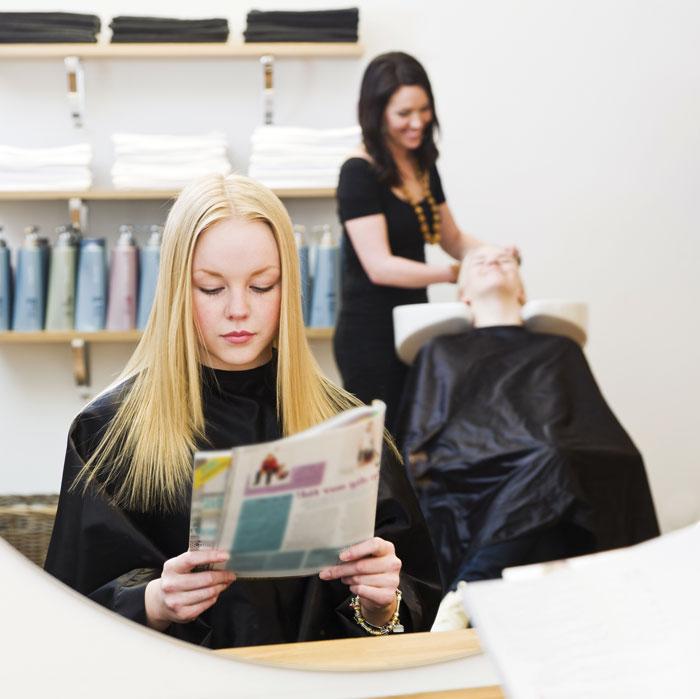 Gossip Magazines in hair salons