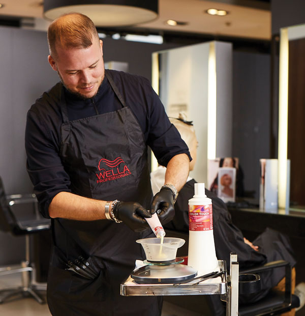 rob eaton toning services with wella