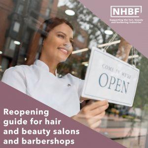 NHBF hair salon reopen coronavirus safety guides