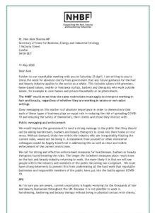 NHBF open letter