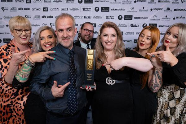 enter the british hairdressing business awards 2020