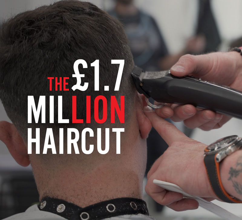 1.7 million haircut tom chapman