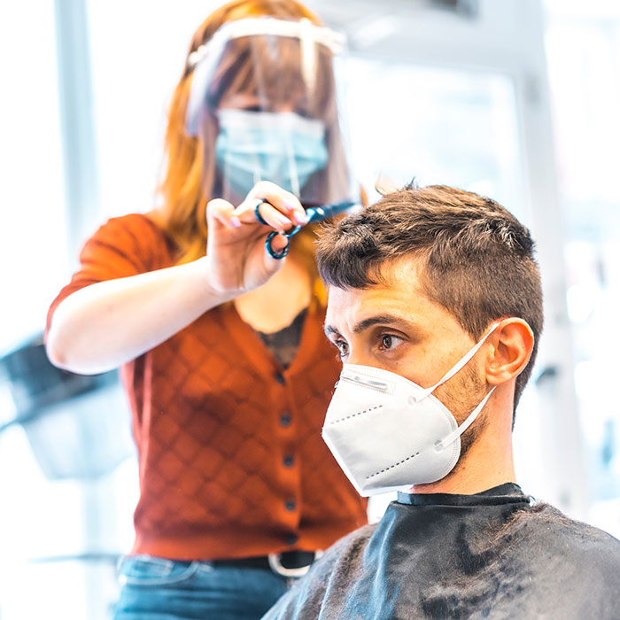 salon owner coronavirus concern