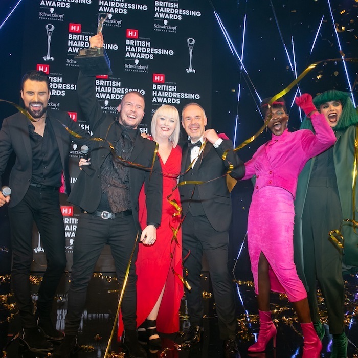 British Hairdressing Awards Change Life