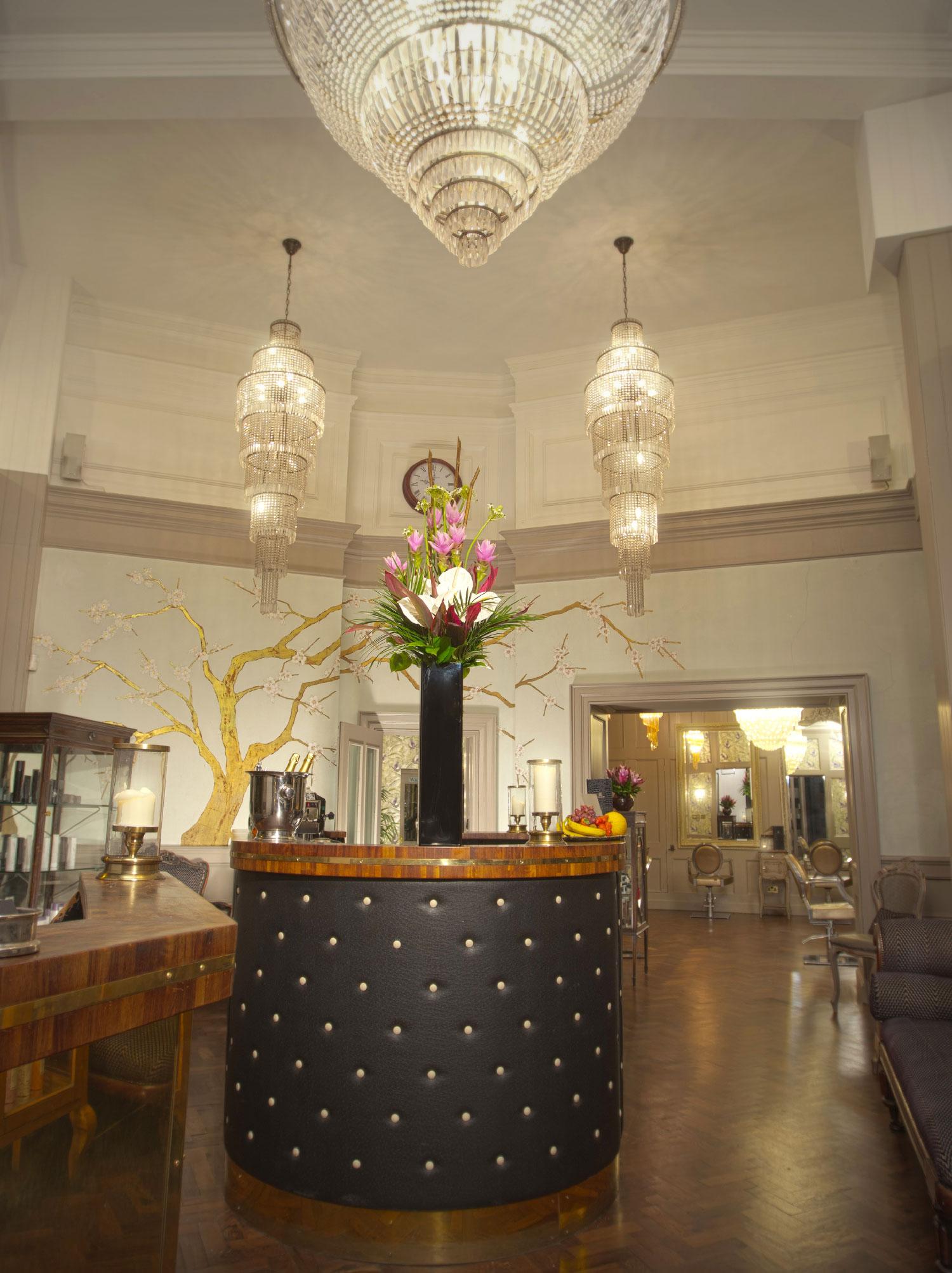 Taylor Taylor London reception area