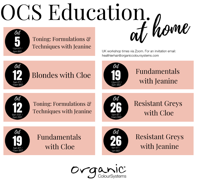 organic colour system online education