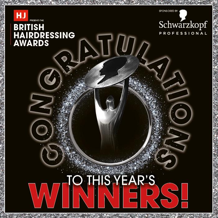 British Hairdressing Awards 2020 winners