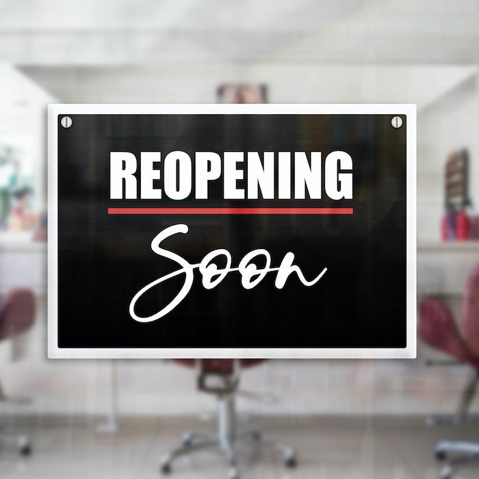 hair salons barbershops England reopen lockdown 2.0