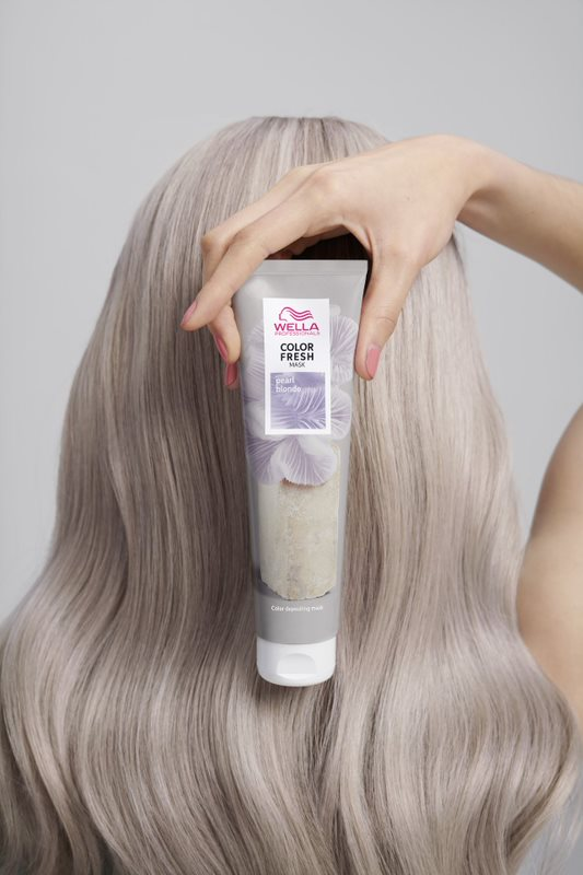 color fresh mask pearl blonde