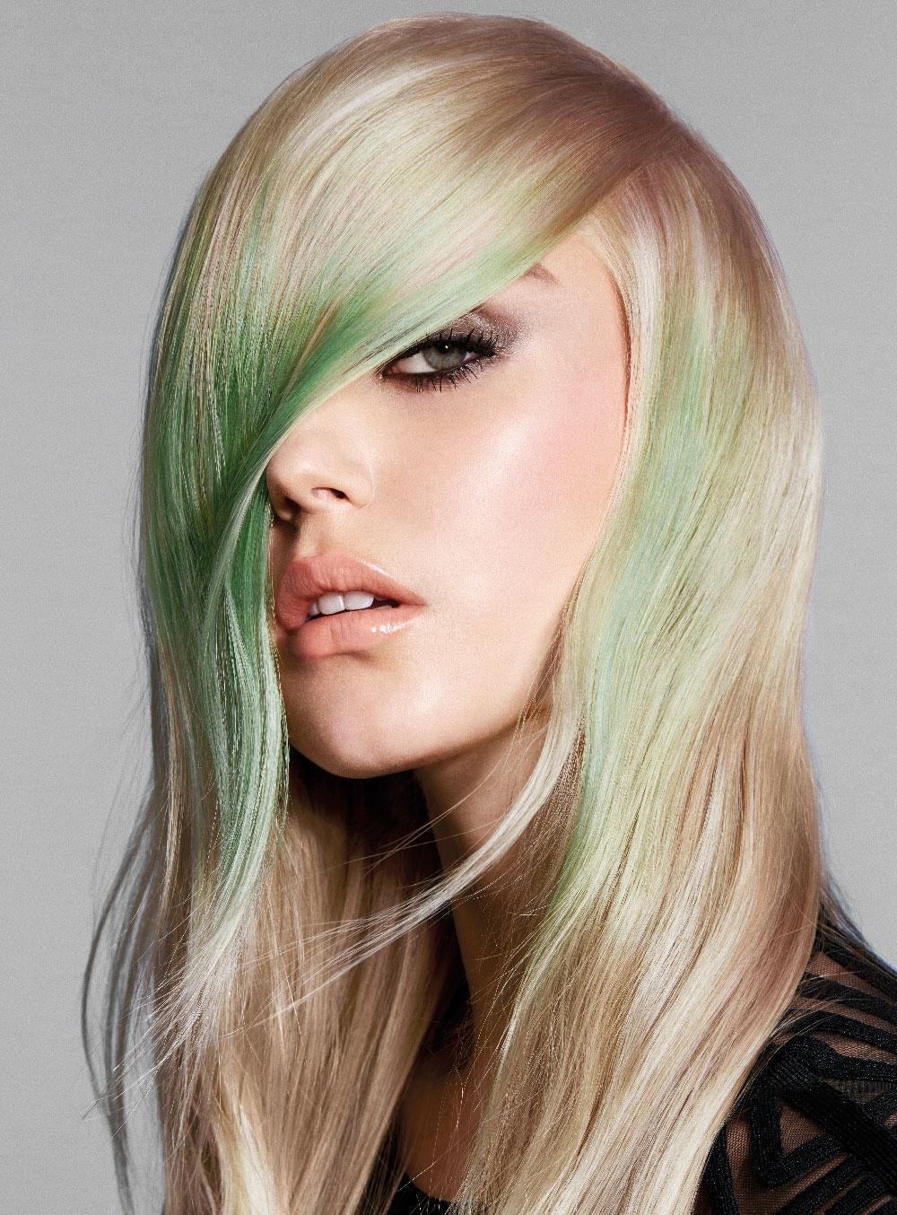 revlon mark leeson mint ribbons zoom party hair