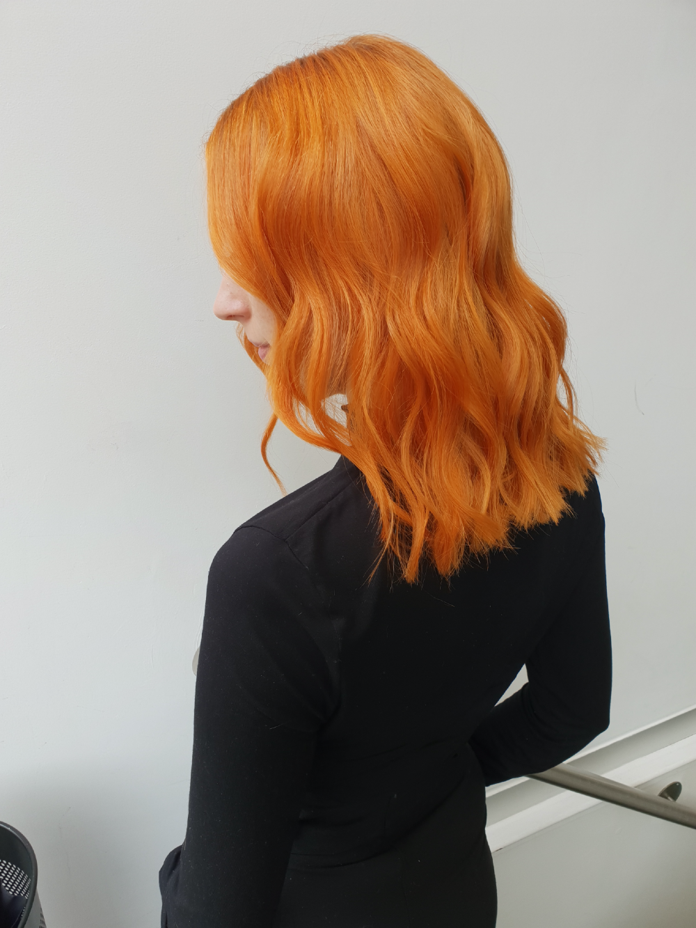 wella passionsita maxine mcarthur copper blonde zoom party hair