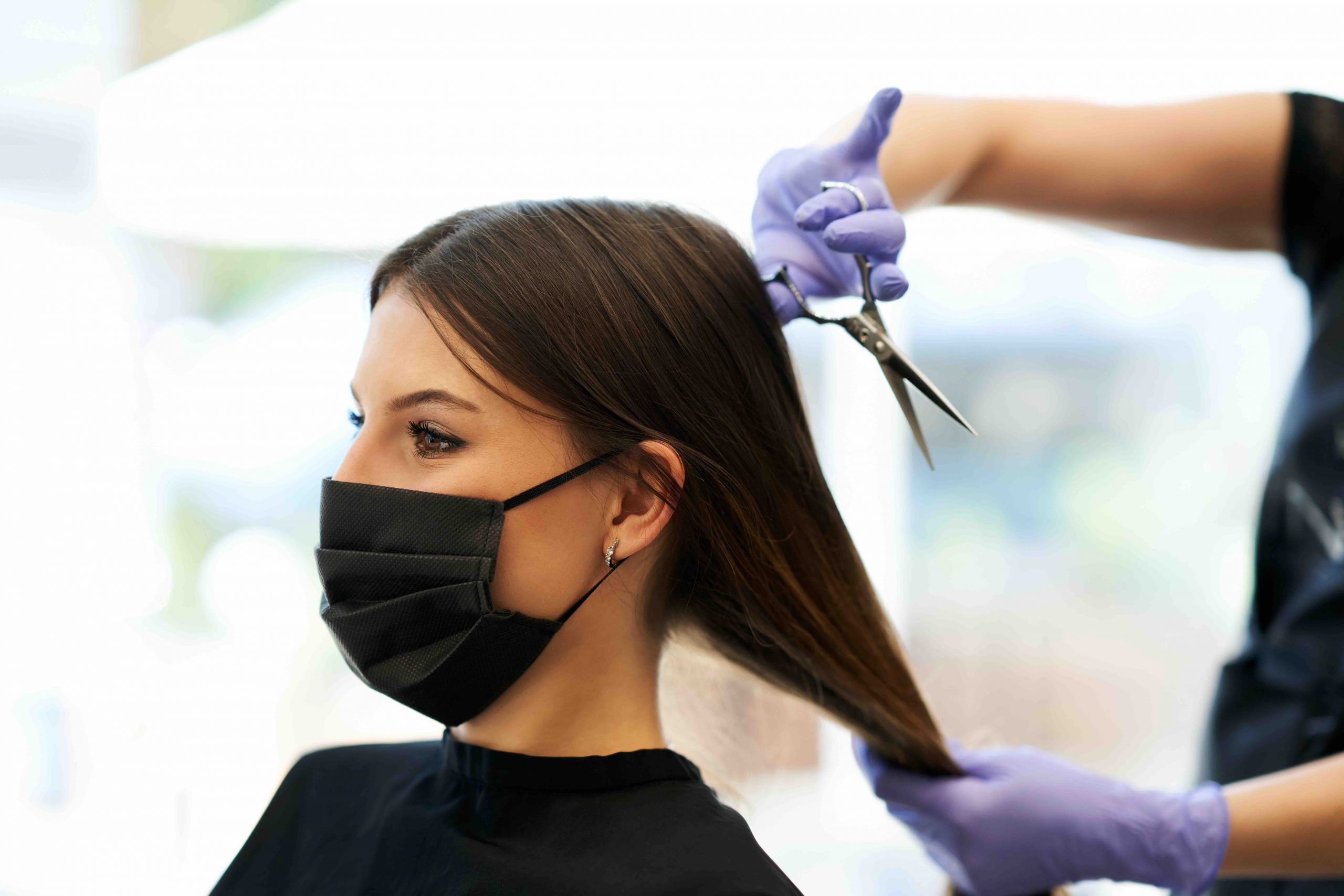 close contact services hairdressers