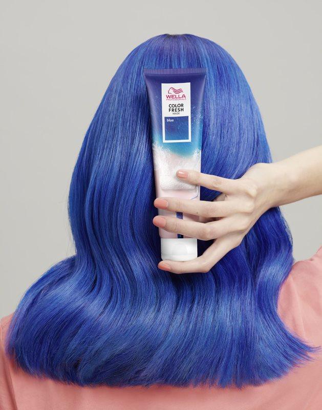 color fresh mask blue
