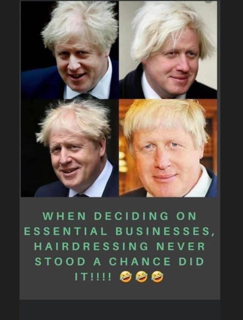 Boris Johnson meme