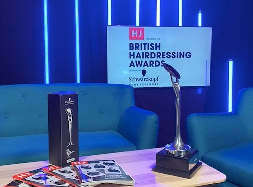 British hairdressing awards virtual behind the scenes