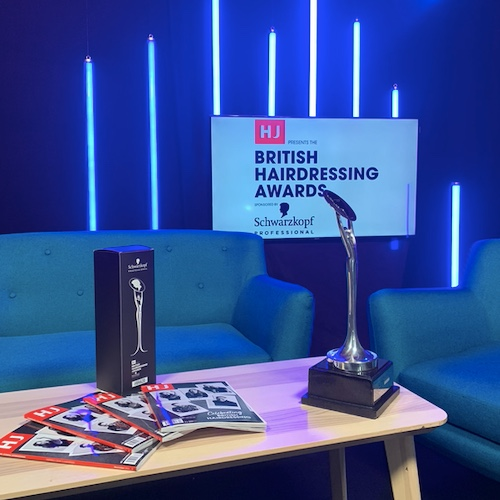 British hairdressing awards virtual behind the scenes
