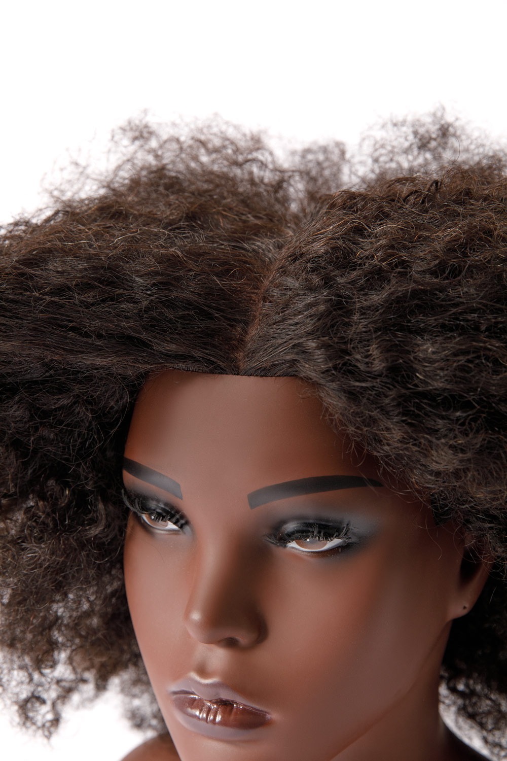 afro doll head