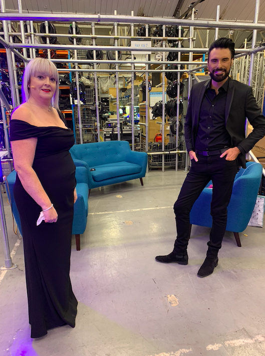 British hairdressing awards behind the scenes rylan and Jayne