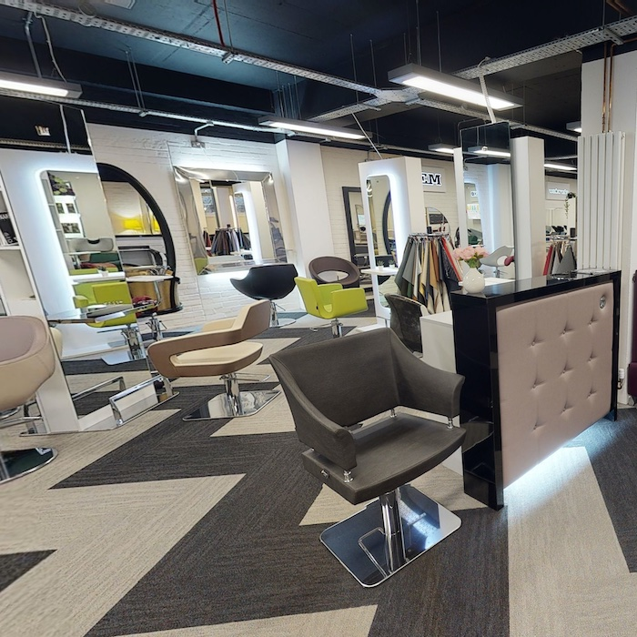 Salon Supplies Virtual cash and carry Furniture Showroom