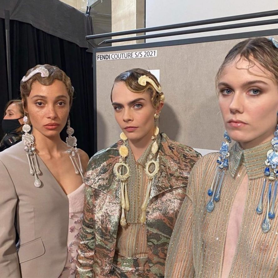 SS21 Haute Couture Hair