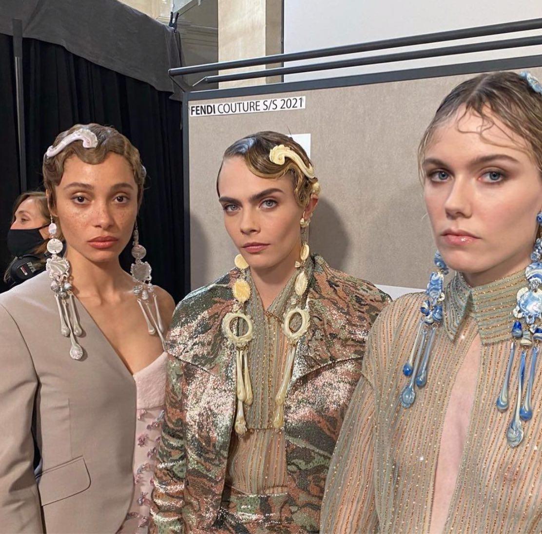 SS21 Haute Couture Hair