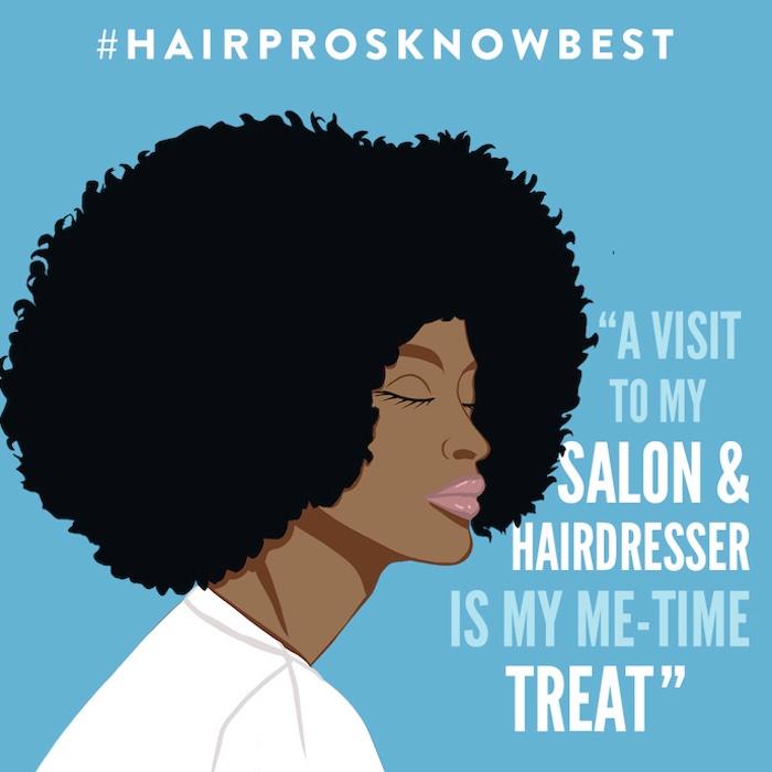 #HairProsKnowBest Campaign