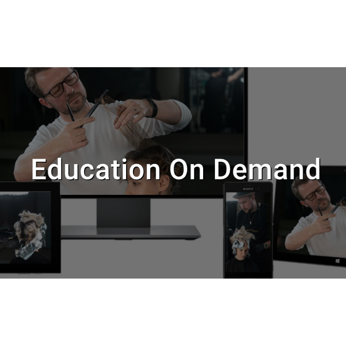 Joico education on demand