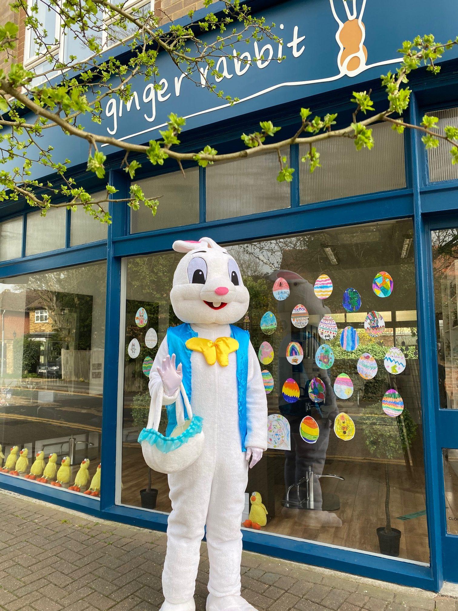 ginger rabbit salon easter bunny