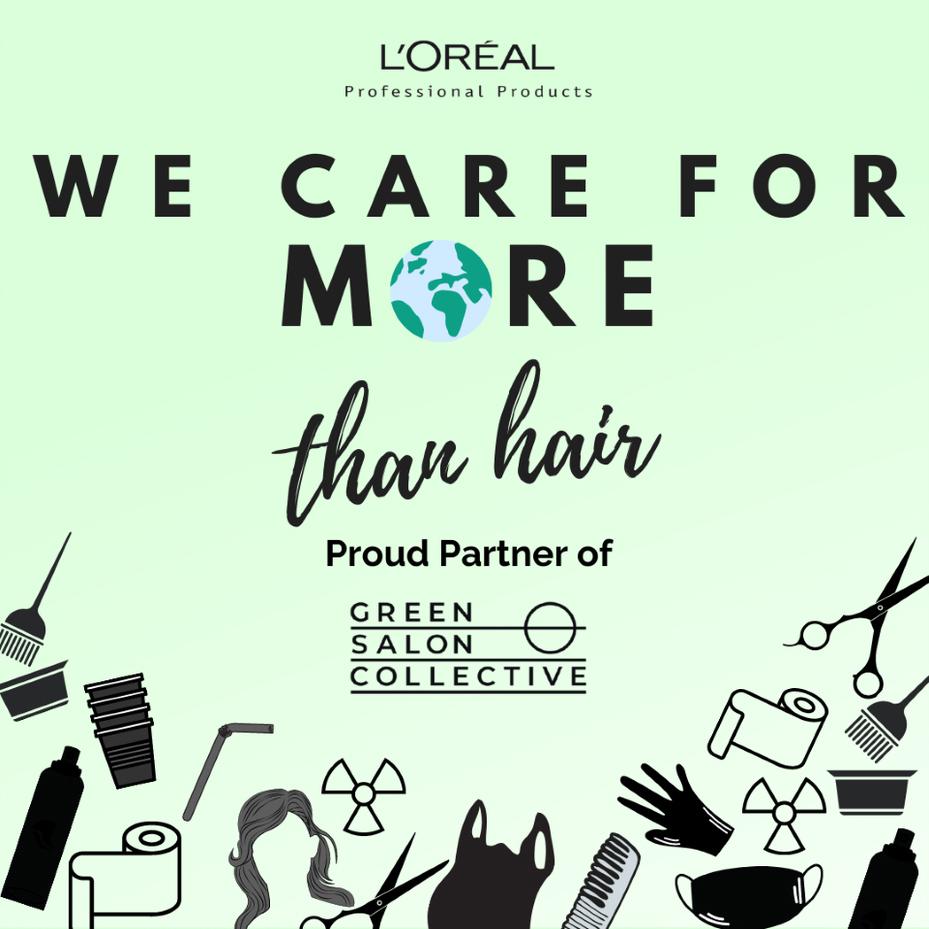 sustainable hair salon
