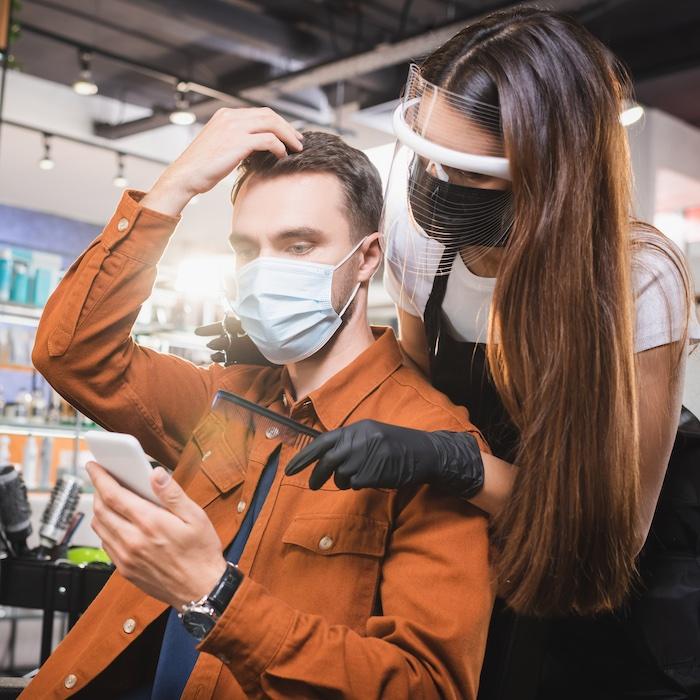 Hairdressing Clients Safe