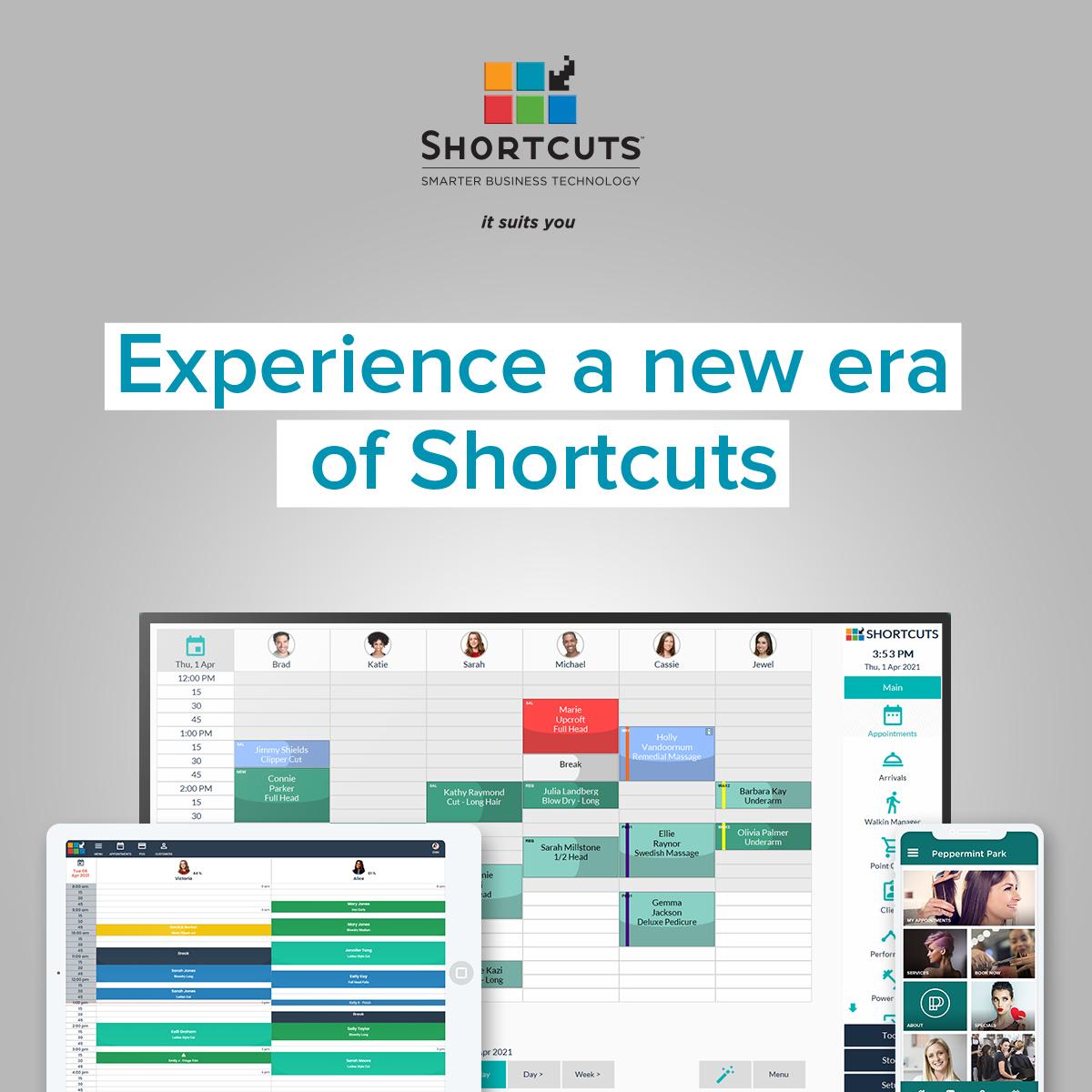 shortcuts 8.1