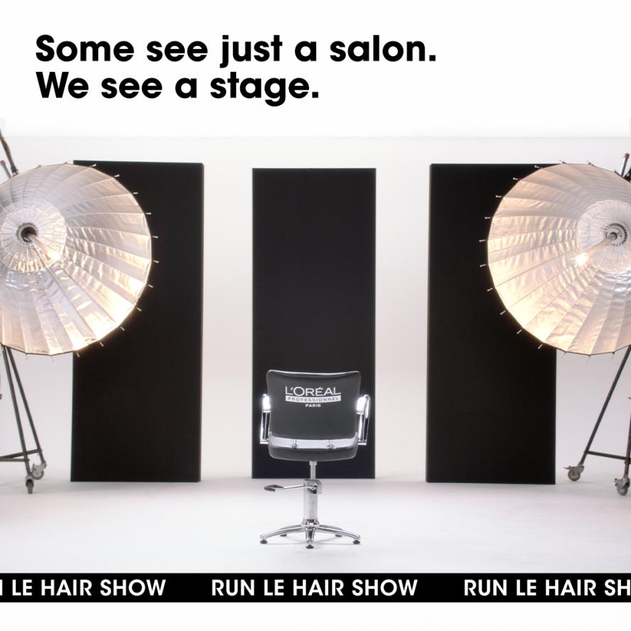L'Oréal professionnel le hair show
