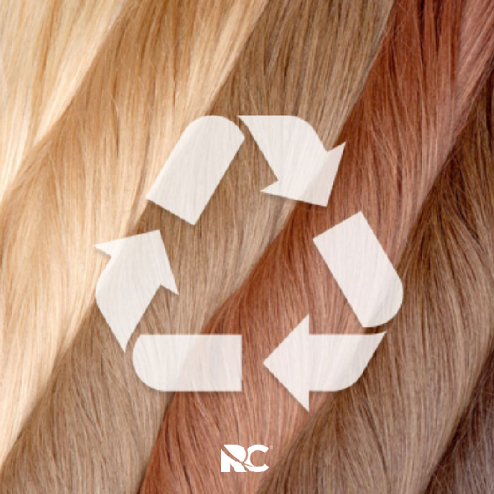 Remi Cachet ethical hair recycling scheme