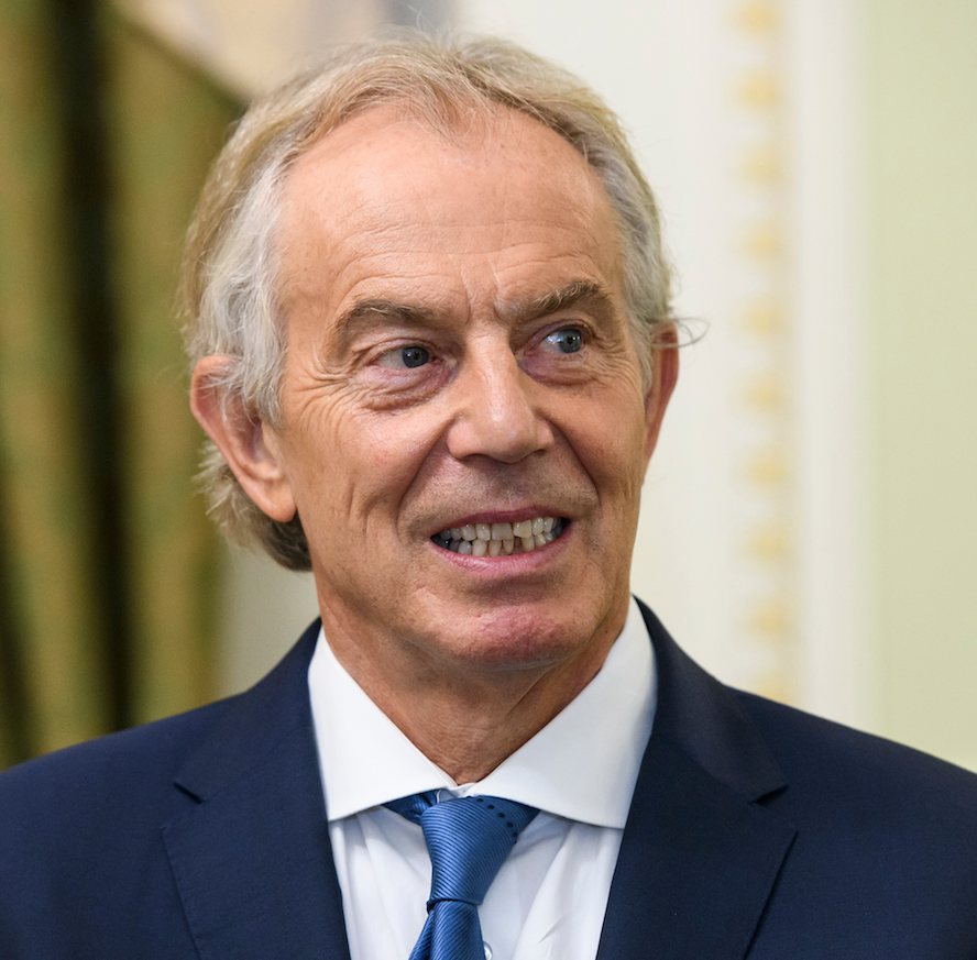 tony blair hair mullet