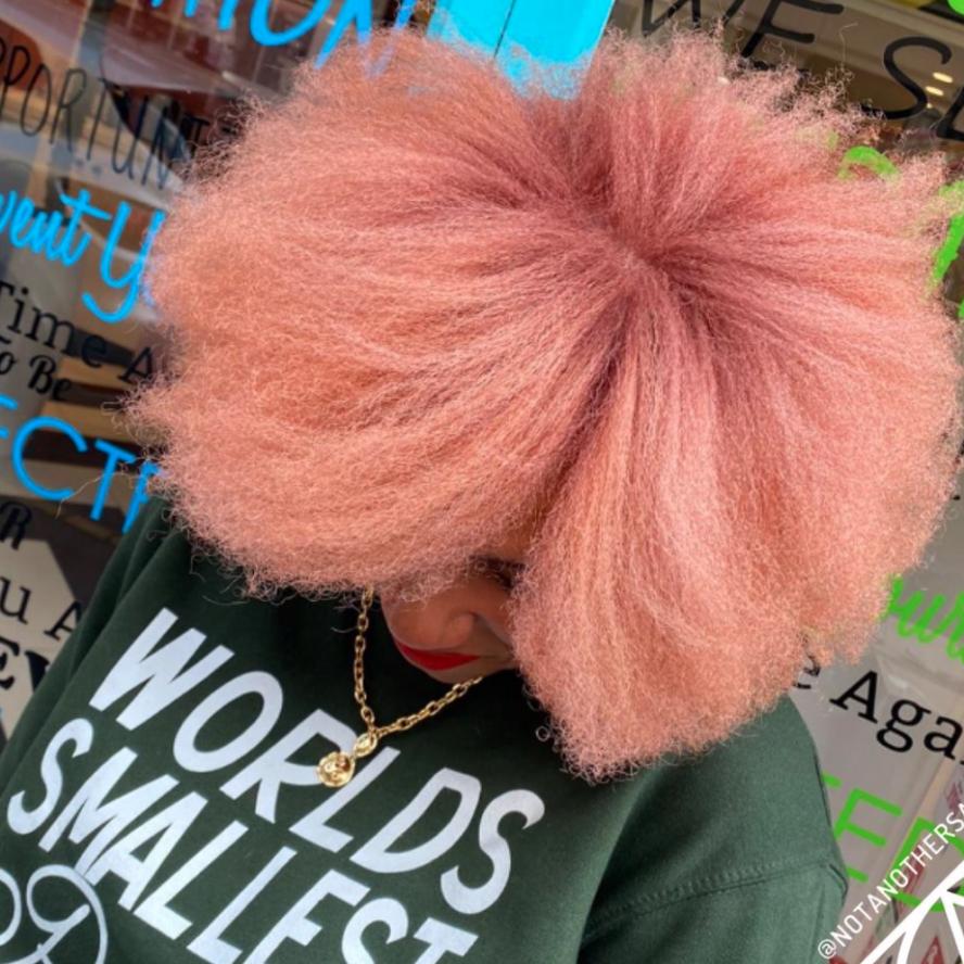 Afro Hair Colour Vivid