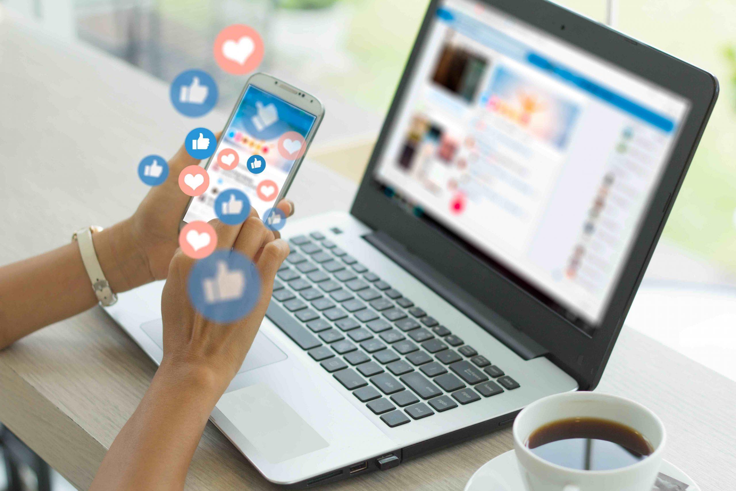 upskilling social media retail