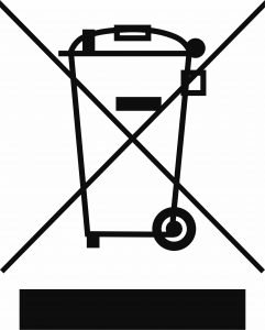 waste electrical symbol