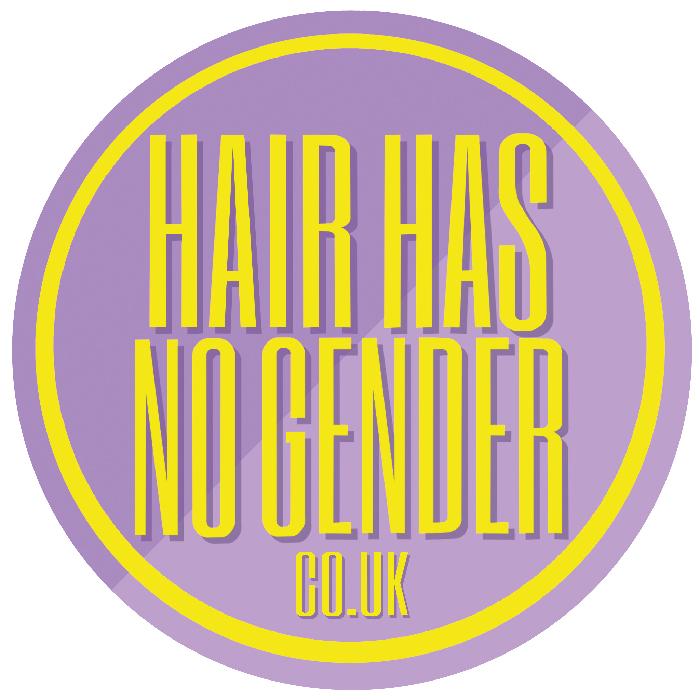hair has no gender logo Transgender Awareness Training for Hairdressers