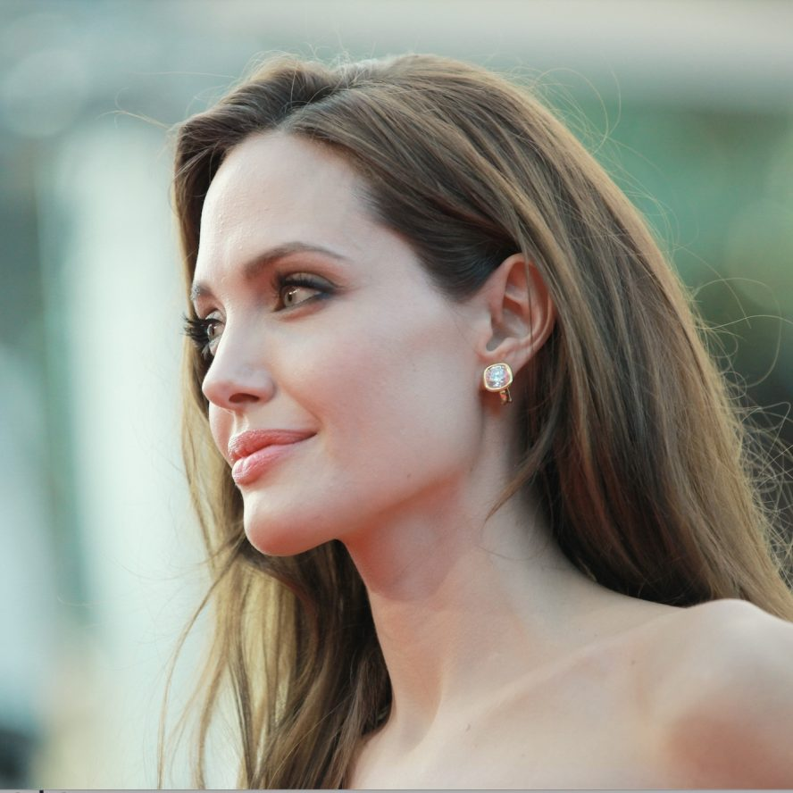 Angelina Jolie hair extensions